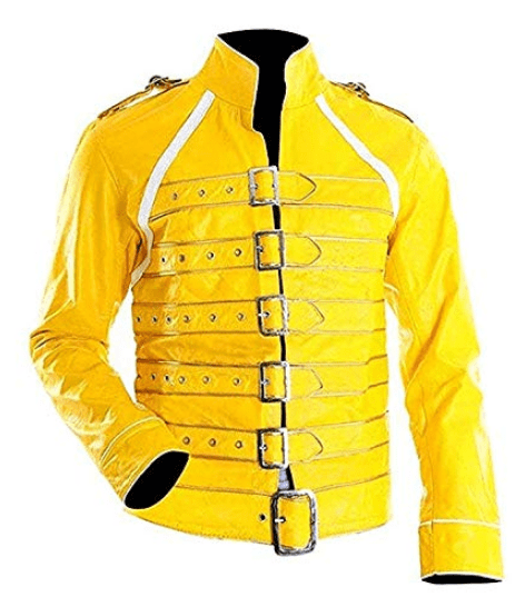 Blouson jaune Freddie mercury