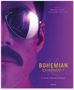 couverture Bohemian Rhapsody le livre officiel du film