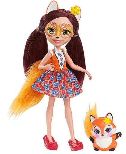 image Figurine Enchantimals Felicity Renard et Flick