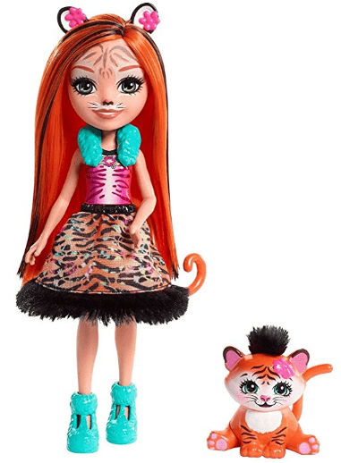 Figurine Enchantimals Tanzi Tigre et Tuft