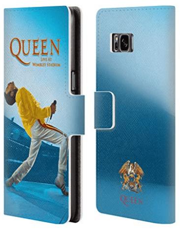 deux smartphones avec la coque de téléphone Queen