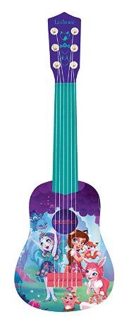 guitare enchantimals rose