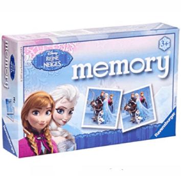 Jeu du memory aux couleurs de la reine des neiges