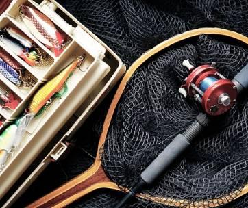 du matériel de poissons pour la pêche