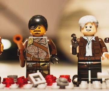 2 figurines lego