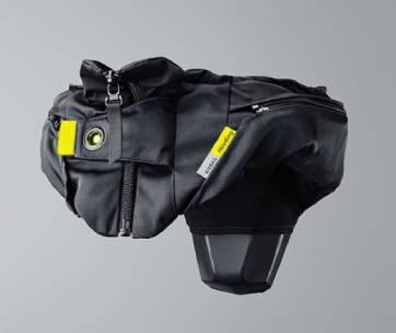 airbag pour cycliste à vélo
