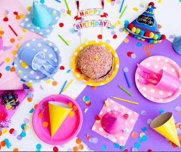 table anniversaire goûter