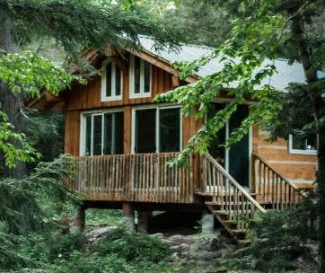 cottage en foret