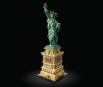 lego statue de la liberté
