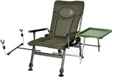 chaise de pêche verte