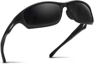 lunettes de pêche noire