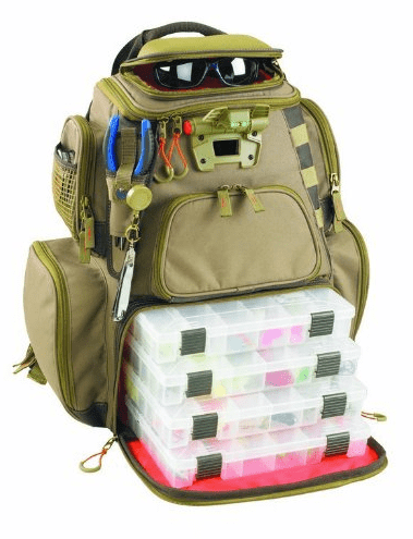 sac de pêche vert