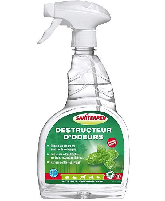 Produit anti odeur urine de chat sanitepern