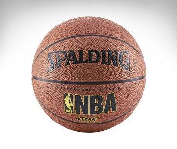 ballon basket spalding nba street exterieur