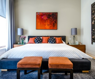 beau lit matelas chambre