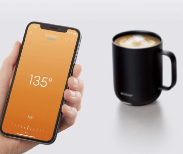mug connecté smartphone