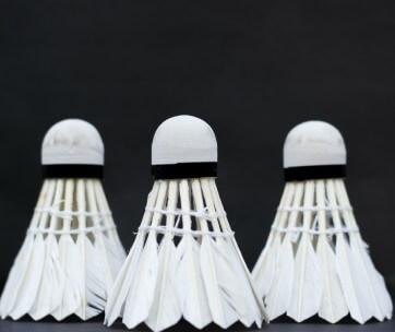 volants badminton