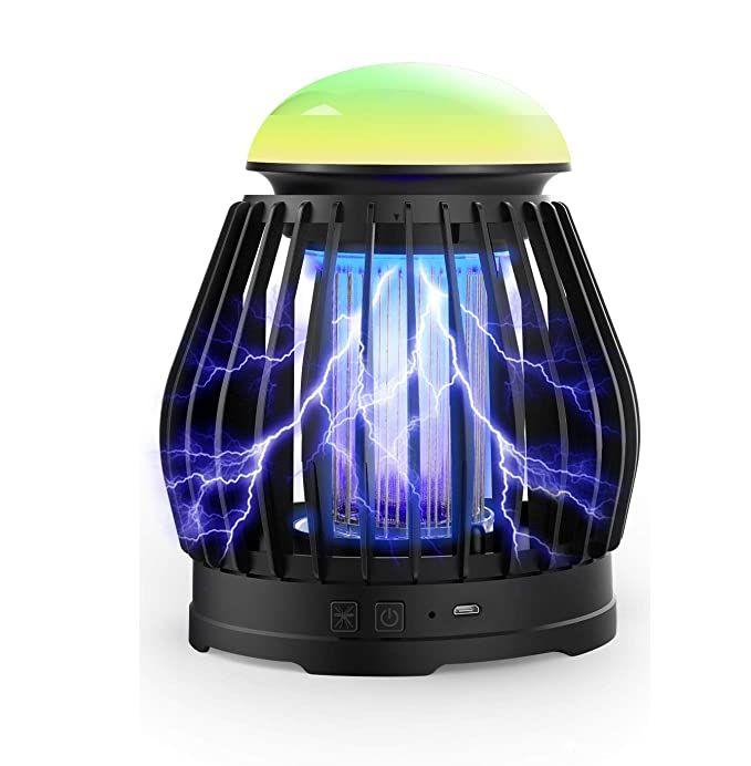 lampe anti moustique photocatalytique CAMROOP