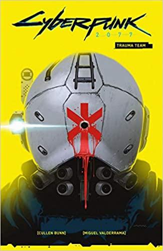 livre jaune cyberpunk