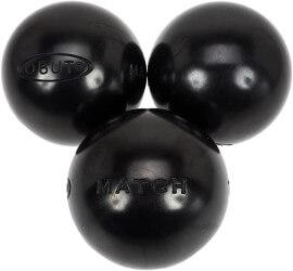 Boules de pétanque noir Obut