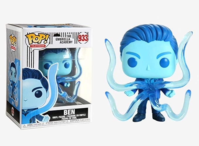 figurine bleu poulpe