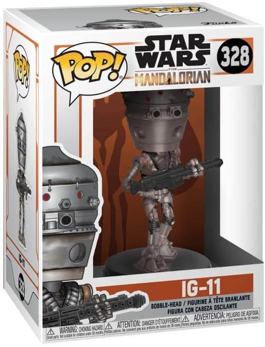 figurine pop de IG 11 star wars