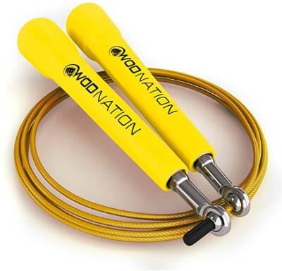 corder à sauter jaune
