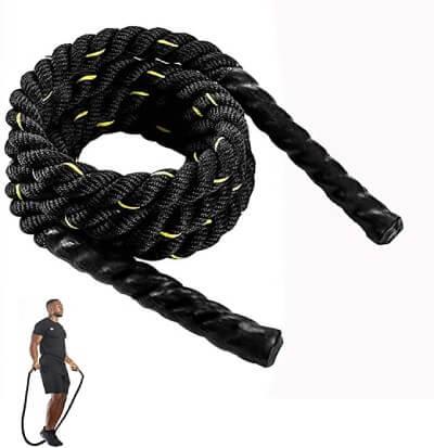 corder à sauter noire lestée