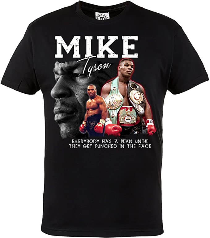 T shirt Mike Tyson