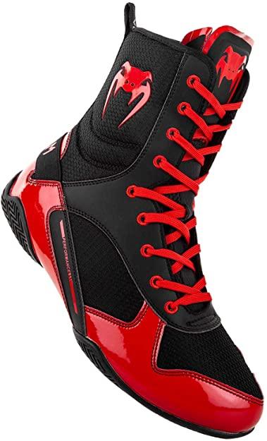Chaussures de Boxe Mixte Adulte rouge