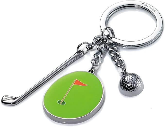 Porte clef de golf