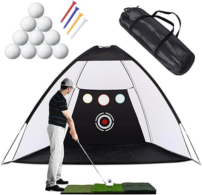 Filet de pratique de golf