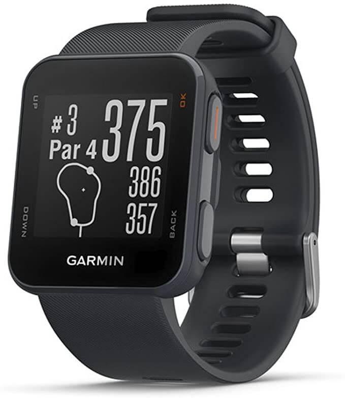 Montre GPS de Golf noire