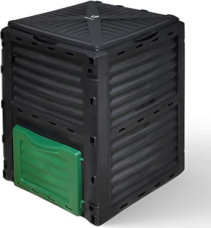 Composteur de Jardin 300L Grande Capacité