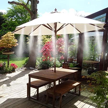 Système de Refroidissement pour parasol