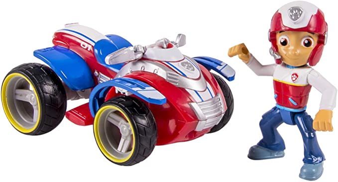 figurine ryder et son quad pat patrouille