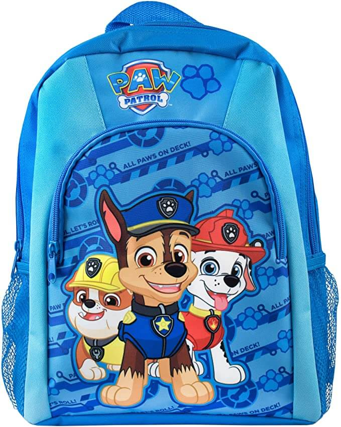 sac à dos enfant bleu maternelle