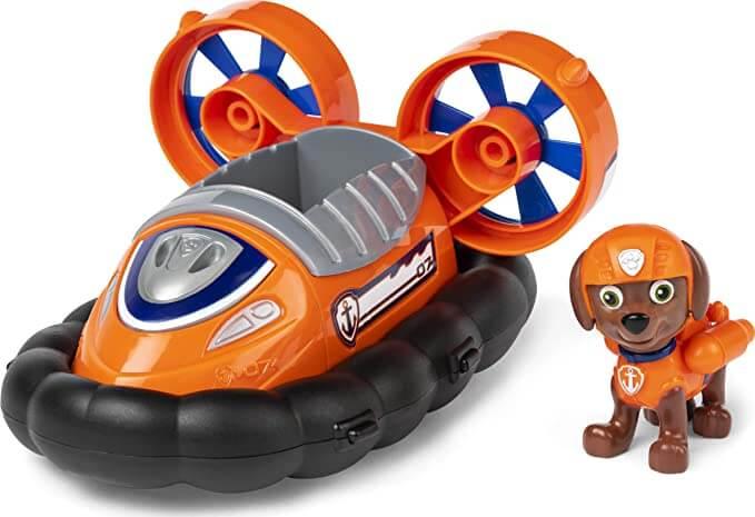 jouet vaisseau flottant orange
