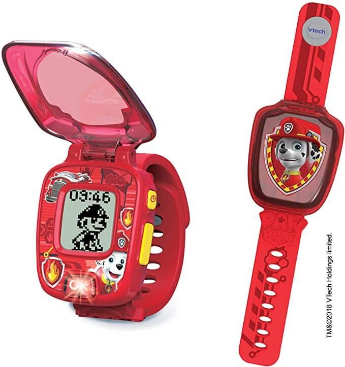 montre rouge vtech chien