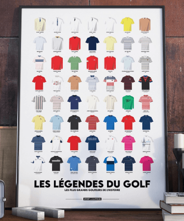 poster de golf