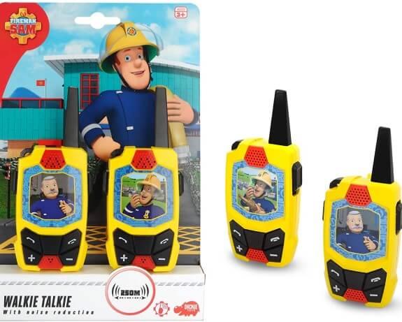 station radio Sam le pompier