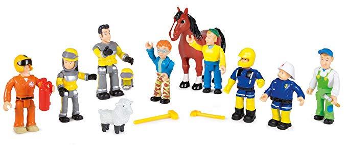 figurines Sam le pompier