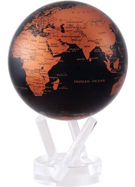 mova globe terre cuivre