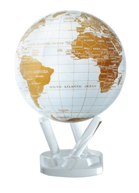mova globe terre or
