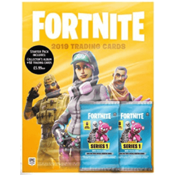Magazine Fortnite Panini 2019 trading cards